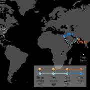 U.S. Naval Update Map: June 20, 2019