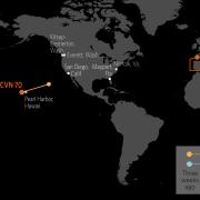 U.S. Naval Update Map: July 5, 2018