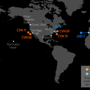 U.S. Naval Update Map: June 27, 2019