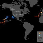 Naval Update Map: July 19, 2018