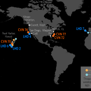 Naval Update Map: Aug. 2, 2018