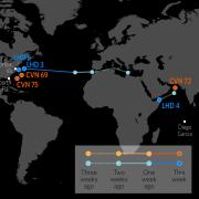 U.S. Naval Update Map: July 18, 2019