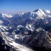 A view of Mount Everest