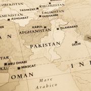A map shows Afghanistan, Pakistan and the surrounding region.