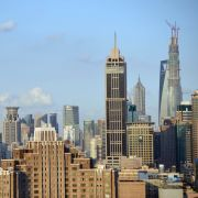 Commercial and residential property in Shanghai.