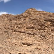 A view from the Sinai Trail, Egypt's first long-distance hiking trail.