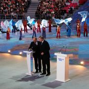 For Vladimir Putin, the Sochi Olympics were a chance to showcase Russia's restored place on the global stage.