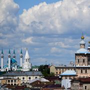 Kazan is the capital of the Republic of Tatarstan in Russia.