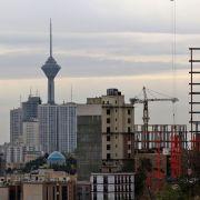 A view of Tehran, Iran.