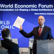 A press conference ahead of the 2019 World Economic Forum