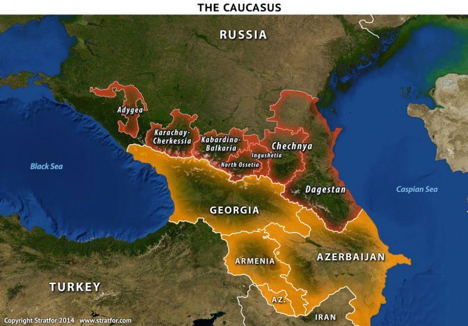 The Caucasus Non Ethnic Russian 11