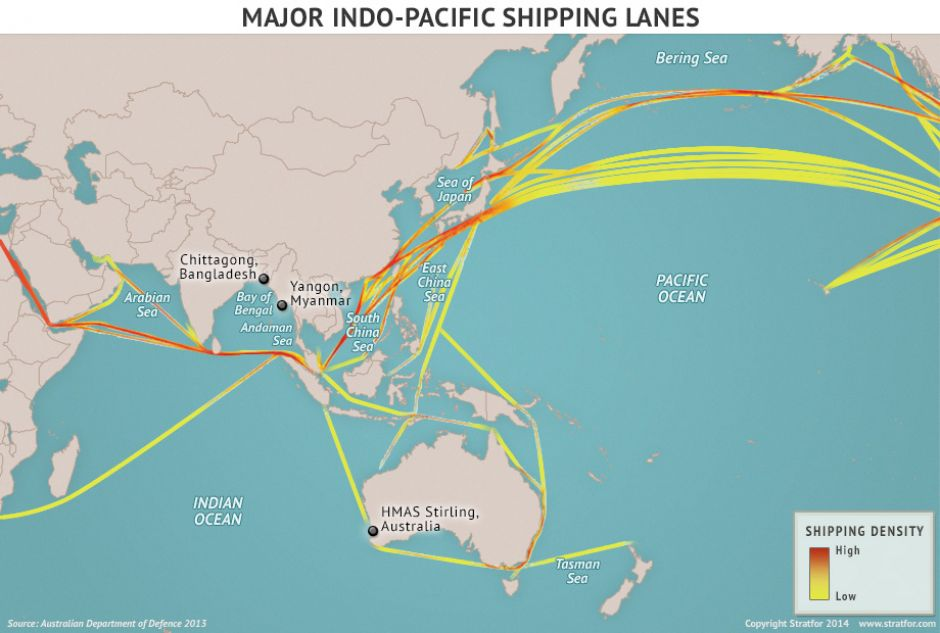 Trump And Tillerson Are Making Rookie Mistakes With China Before - Us navy ships aircraft carriers movement stratfor maps