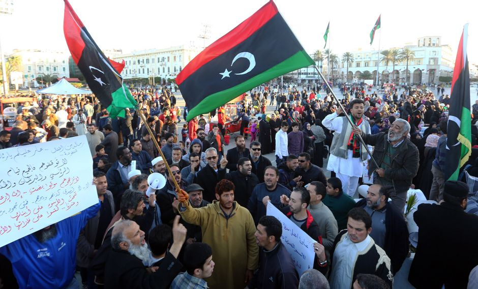 Picking at the Tangled Knot of Libya