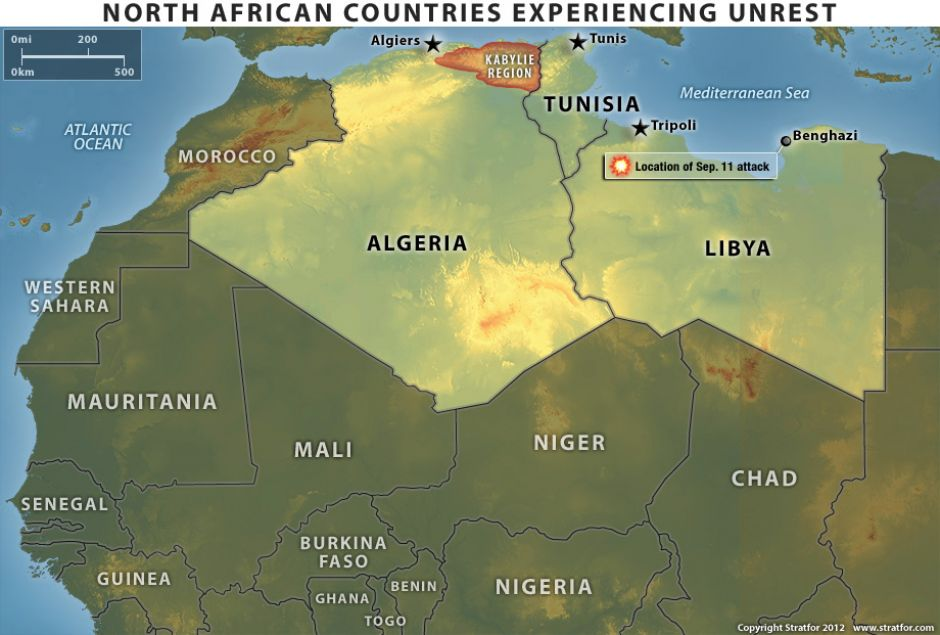 Comparing the Unrest in North African Countries