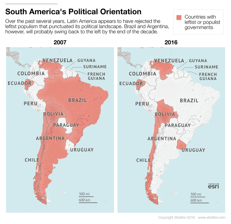 The Resilience Of The Left In Latin America Stratfor Worldview - Argentina election map