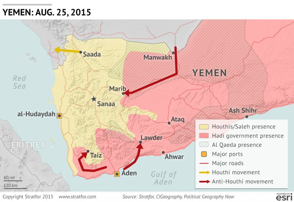 In Yemen AntiHouthi Operations Confront Forceful Opposition