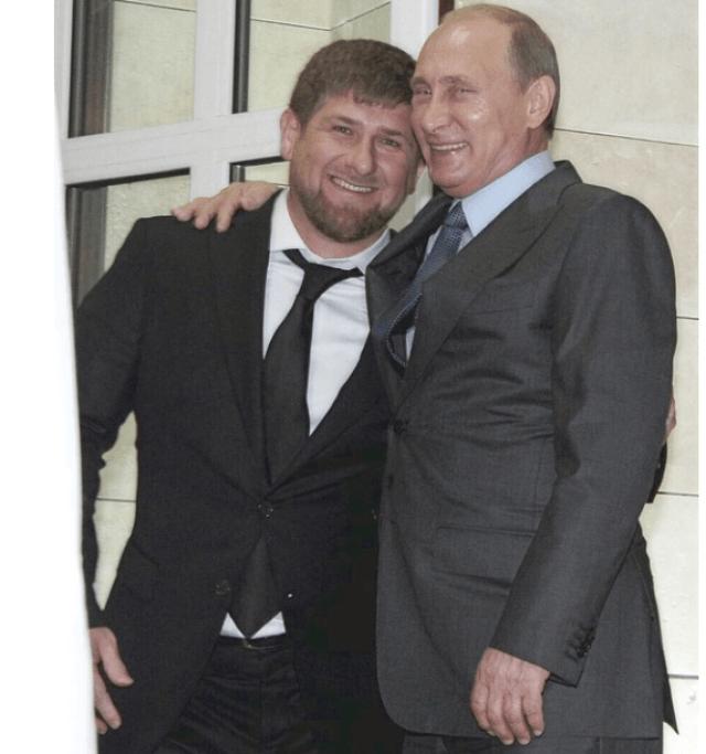 Image result for kadyrov putin