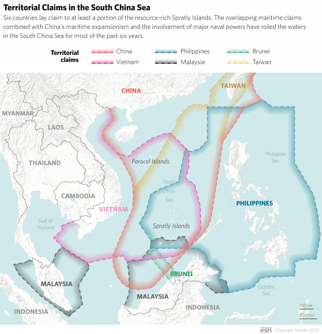 The Spratly Islands in Focus