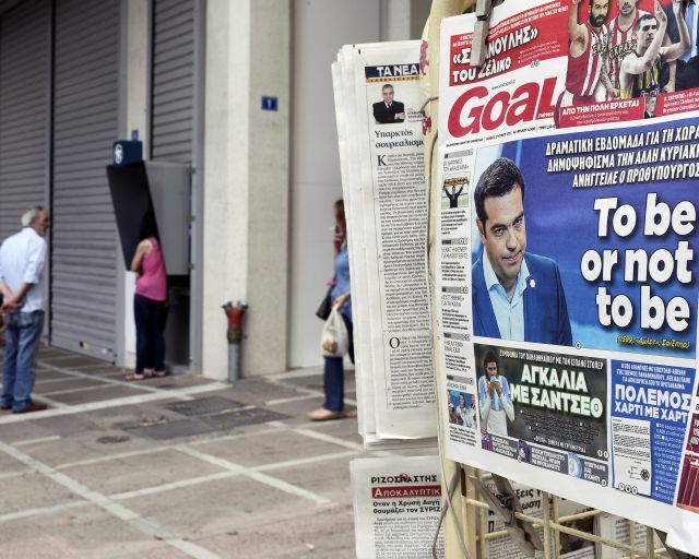 Greece Puts Its Fate to a Vote