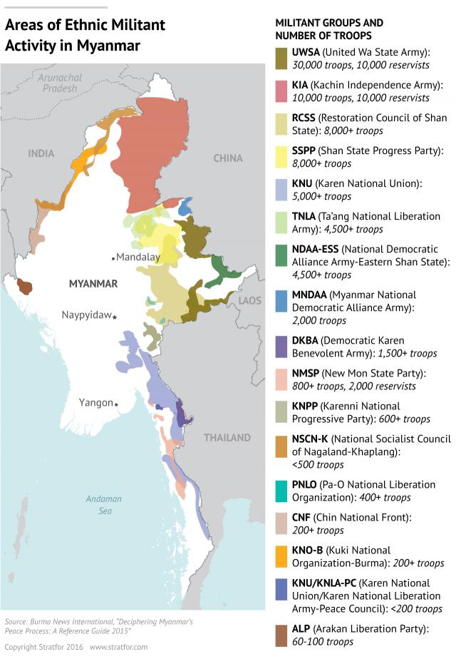 Risultati immagini per 2017 map conflict Myanmar