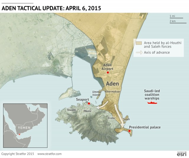The Conflict In Yemen April - Where is yemen located