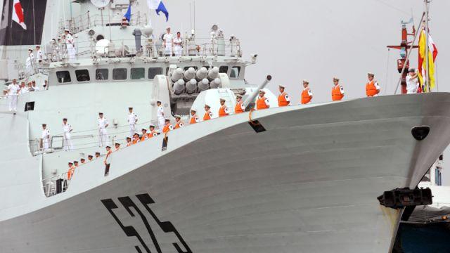 Conversation: China's Defense                                   Strategy