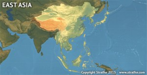Regional Map - Forecasts - East Asia