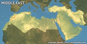 Regional Map - Forecasts - Middle East and North Africa