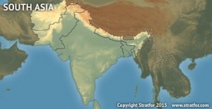 Regional Map - Forecasts - South Asia