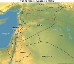 The Greater Levantine Region