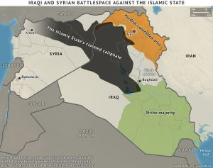 Iraqi and Syrian Battle Space Against the Islamic State