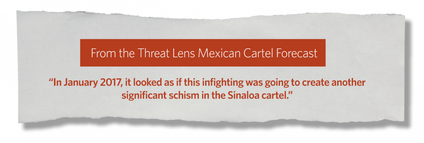 Tracking Mexico's Cartels in 2018