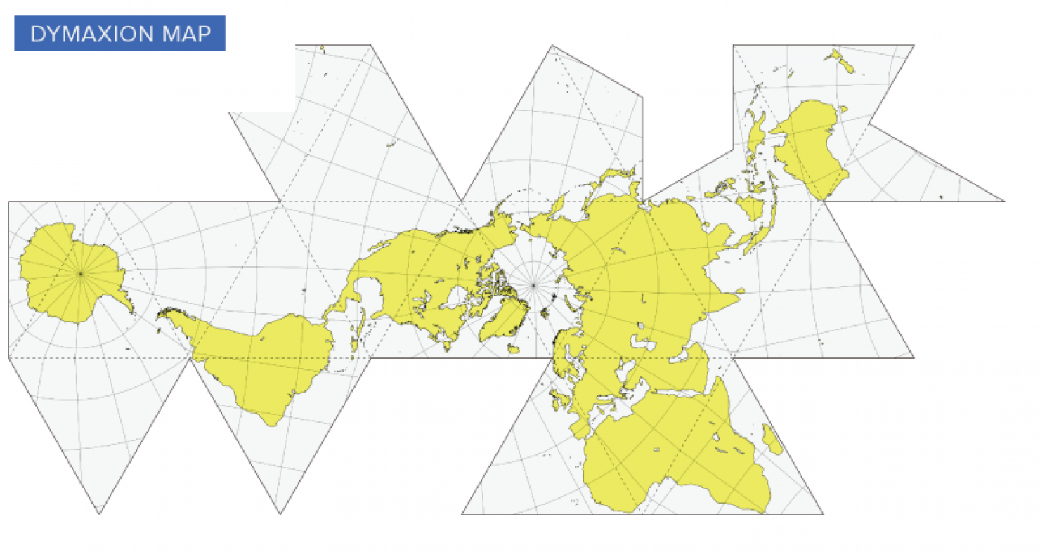 The problem with our maps fuller believed that humans would be better equipped to address global challenges if they were given a way to visualize the earths continents in a gumiabroncs Gallery
