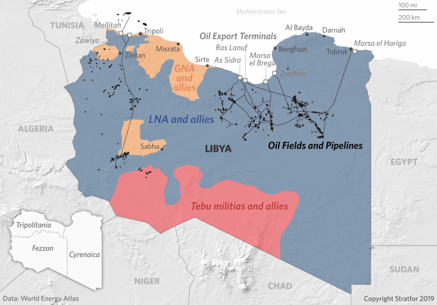 In Libya, A New Offensive Could Disrupt the Oil Industry's