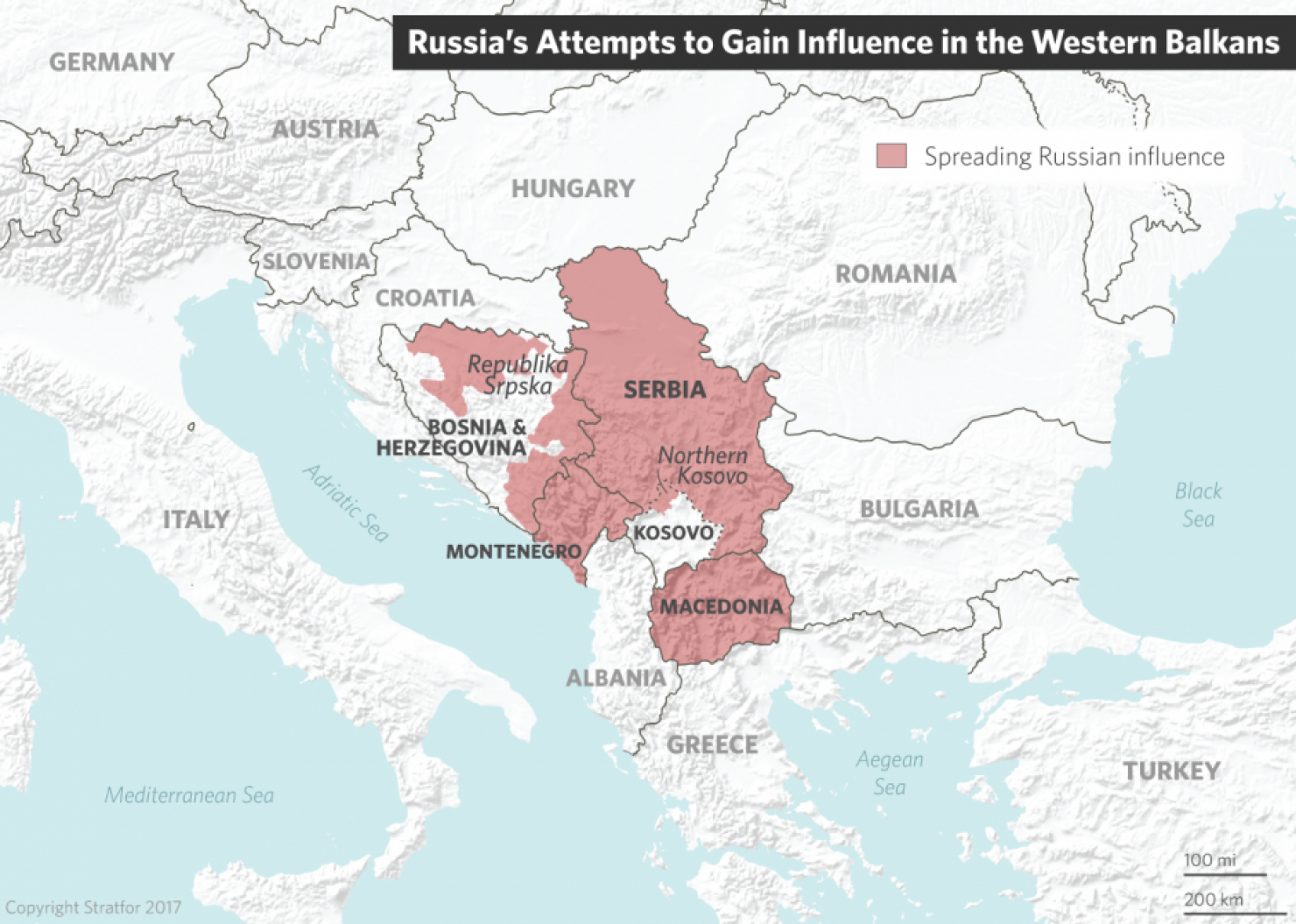 Russia's Attempts to Gain Influence in the Western Balkans
