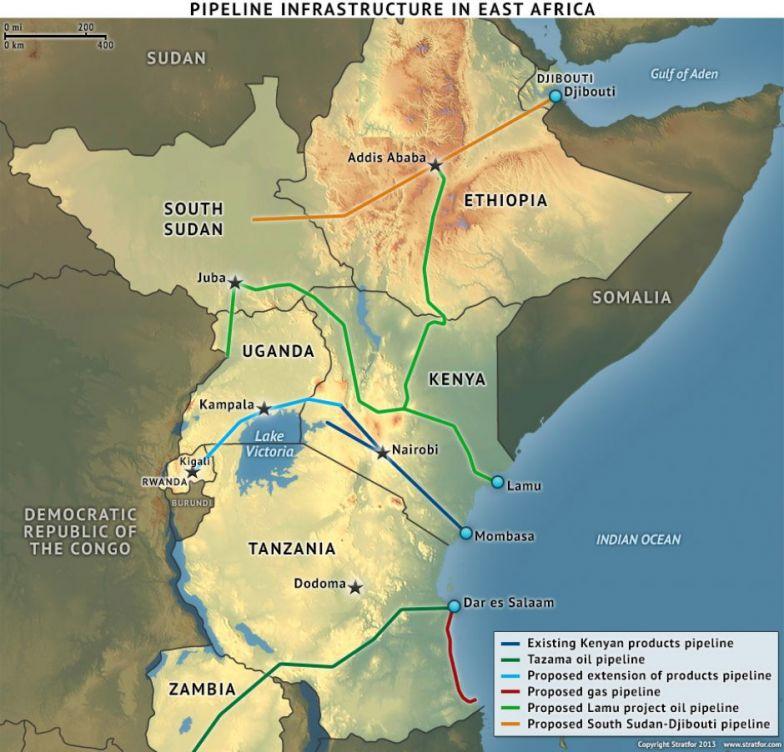 East African Infrastructure Development, Part 4: Pipelines