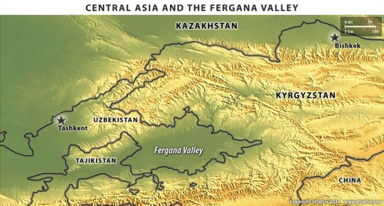 Central Asia and the Fergana Valley