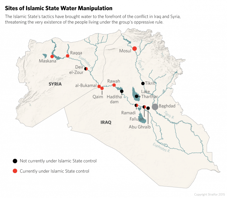 The Islamic State's tactics have brought water to the forefront of the conflict in Iraq and Syria.
