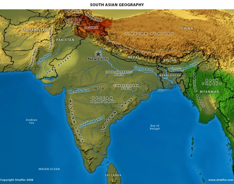 The Geopolitics Of India A Shifting Self Contained World