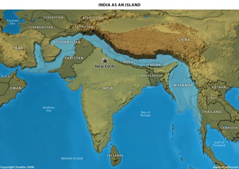 The Geopolitics of India: A Shifting, Self-Contained World