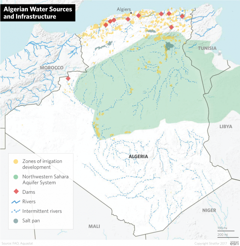 Algeria: A Desert Nation Fighting to Maintain Water Supplies