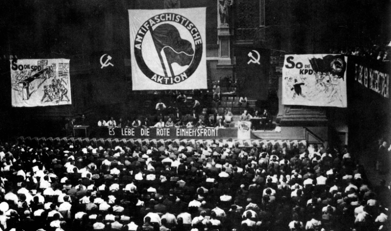 Today's antifa movement models itself after Germany's anti-fascists in the 1930s.