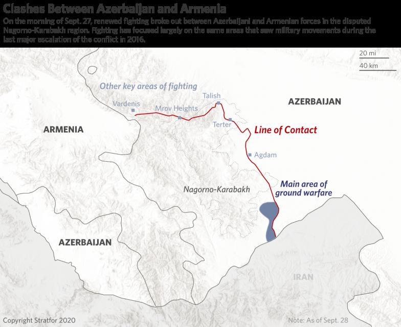 Armenia And Azerbaijan Intensify Their Border Battle