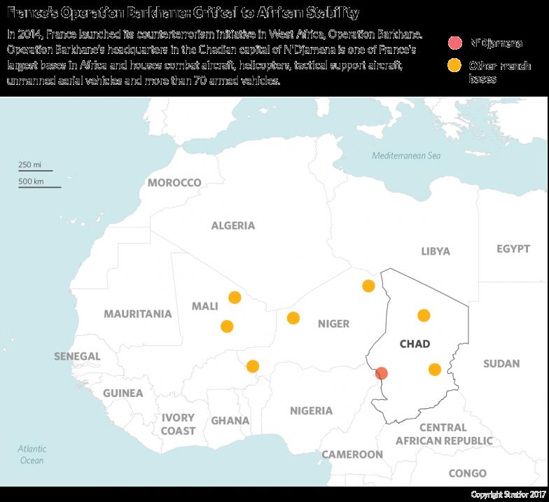 Operation Barkhane Map
