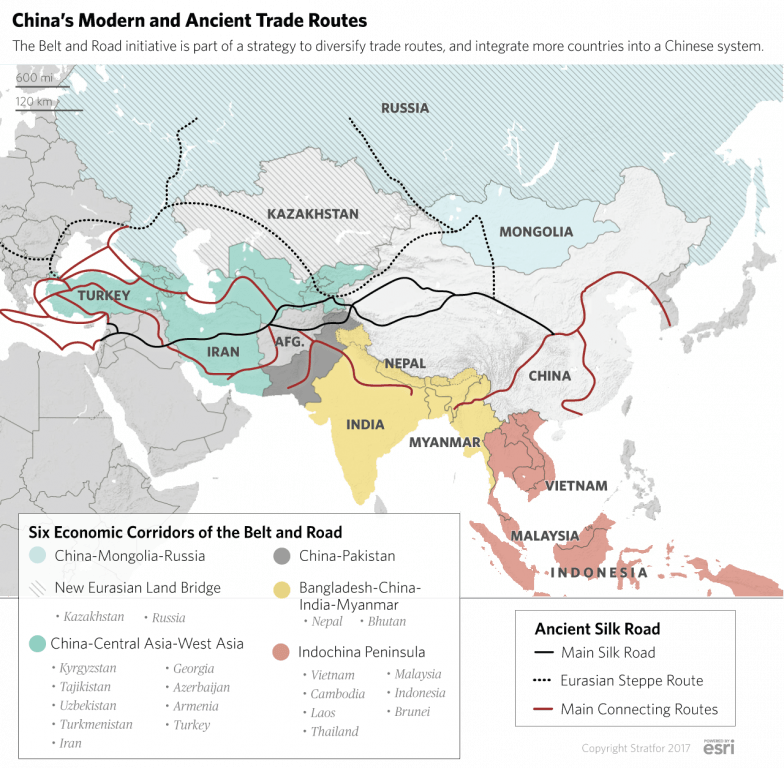 The Geopolitics of China: A Great Power Enclosed