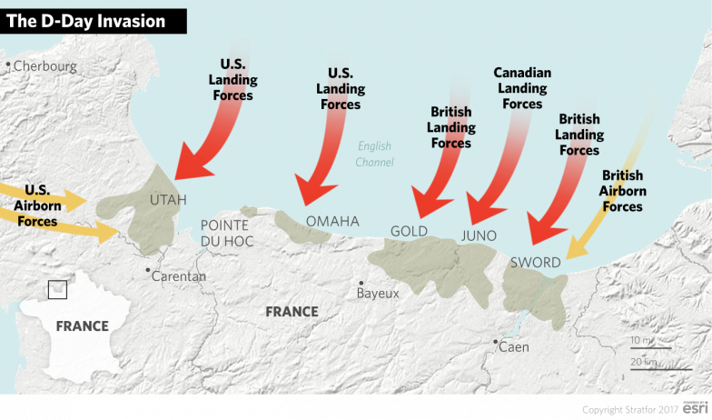 the amphibious invasion of normandy in the second world war The western allies of world war ii launched the largest amphibious invasion in history when they assaulted normandy, located on the northern coast of france, on 6.