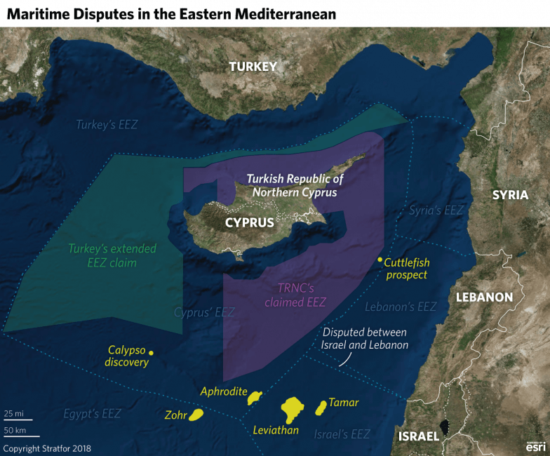 The Eastern Mediterranean's New Great Game Over Natural Gas