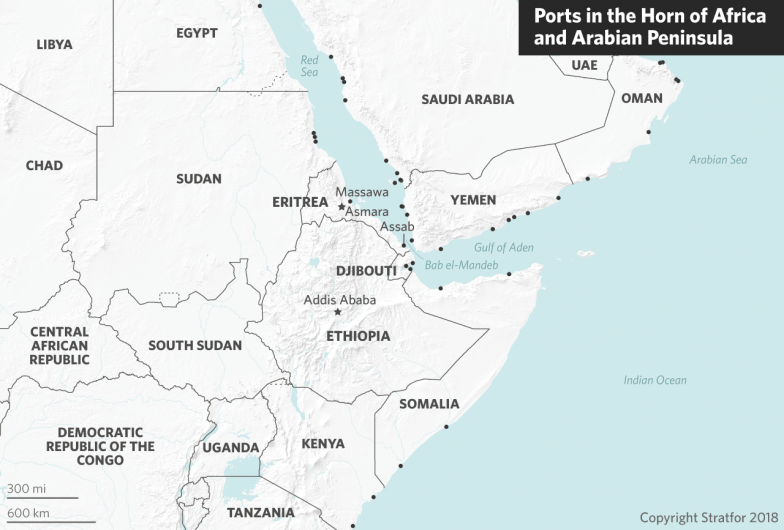 Map Of Africa Eritrea.Eritrea Creaks Open The Door As Fears Of War Recede
