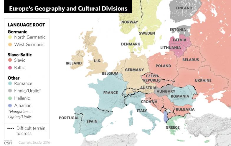 Europe's Geopolitical Divides