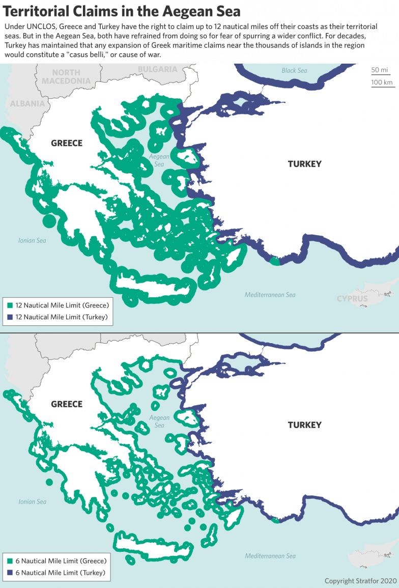 War Within NATO? Why Is Turkey Getting So Aggressive With Greece? by Stratfor Worldview 22